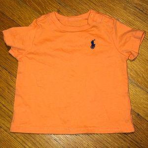 Ralph Lauren Orange Tee 3M